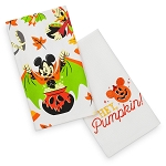 Disney Kitchen Towel Set - Halloween Mickey Mouse and Friends