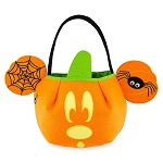 Disney Trick or Treat Bag - Mickey Mouse Pumpkin - Felt