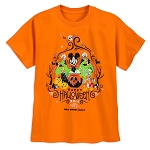 Disney T-Shirt for Boys - 2018 Halloween - Mickey and Friends - Orange