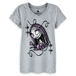 Disney Shirt for Girls - Sally - Nightmare Before Christmas - Gray