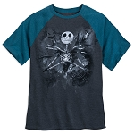 Disney Shirt for Men - Nightmare Before Christmas Baseball T-Shirt