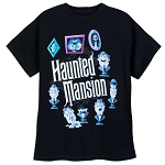 Disney Shirt for Child - The Haunted Mansion - Glow-in-the-Dark