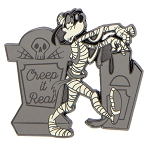 Disney Halloween Pin - Skeleton Goofy - Creep it Real