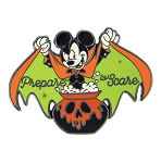 Disney Halloween Pin - Mickey Mouse Vampire - Prepare to Scare