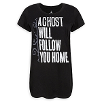 Disney Shirt for Women - Haunted Mansion - Ghost will Follow You Home