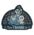 Disney Haunted Mansion Pin - Hitchhiking Ghosts - Three Thumbs Up