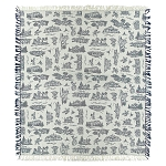 Disney Throw Blanket - Disney Vacation Club - Resorts