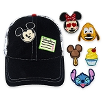 Disney Hat - Baseball Cap - Disney Parks Emoji with Patches