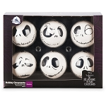 Disney Holiday Ornament Set - Jack Skellington - Set of 6