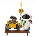 Disney Christmas Ornament - WALL-E and E.V.E. Legacy - Sketchbook