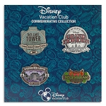 Disney Pin Trading Booster Set - Disney Vacation Club - Set of 4