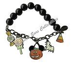 Disney Charm Bracelet - Halloween Icons - Glow in the Dark