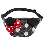 Disney Loungefly Waist Pack Bag - Minnie Mouse Sequined