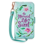 Disney iPhone 6s/7/8 Case - Ariel Wristlet - Mermaid Life is Sweet