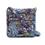 Disney Vera Bradley Triple Zip Hipster - Mickey's Iconic Collection