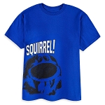 Disney Shirt for Boys - Dug T-Shirt - Squirrel - Blue