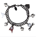 Disney Charm Bracelet - Nightmare Before Christmas - Jack Sally Zero