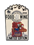 Disney Food and Wine Festival Pin - 2018 Goofy