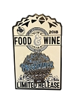 Disney Food and Wine Festival Pin - 2018 Figment - Passholder