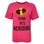 Disney Shirt for Adults - Incredibles 2 - Couples - He's Incredible