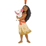 Disney Figure Christmas Ornament - Moana with Pua
