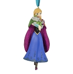 Disney Figure Christmas Ornament - Anna with Troll