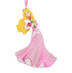 Disney Figure Christmas Ornament - Aurora with Rose