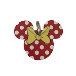 Disney Pet ID Tag - Minnie Mouse with Dots - Engraved