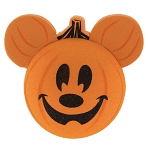 Disney Antenna Topper - Halloween - Mickey Pumpkin - Hey Pumpkin