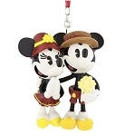Disney Figure Christmas Ornament - Boardwalk - Mickey and Minnie