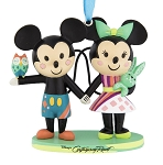 Disney Figure Christmas Ornament - Contemporary - Mickey and Minnie