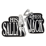 Disney Pin Set - Jack and Sally - Her Jack His Sally
