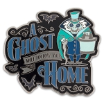Disney Haunted Mansion Pin - A Ghost will Follow you Home