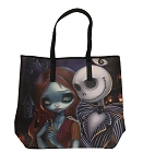 Disney Jasmine Becket Griffith Tote - Jack Skellington and Sally