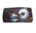 Disney Jasmine Becket Griffith Wallet - Jack Skellington and Sally