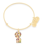 Disney Alex & Ani Bracelet - Pixar Up - House and Balloons