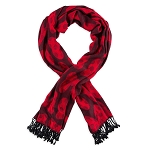 Disney Pashmina Scarf - Minnie Mouse Bows - Red