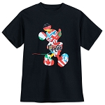 Disney Boys Shirt - Epcot - Mickey Mouse Countries - Black