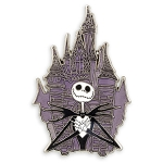 Disney Nightmare Before Christmas Pin - Jack at Castle