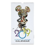 Disney Poster Calendar - 2019 Disney Parks Attraction