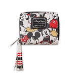 Disney Loungefly Wallet - Mickey and Minnie Mouse - Vintage