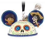 Disney Ear Hat Ornament - Coco - Miguel and Hector