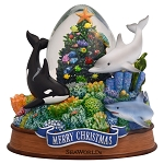 Sea World Snow Globe - Merry Christmas - Shamu and Friends