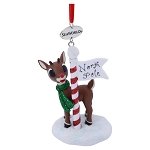 Sea World Christmas Ornament - Rudolph in North Pole