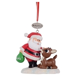 Sea World Christmas Ornament - Santa & Rudolph