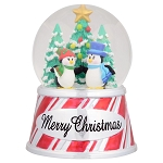 Sea World Snow Globe - Christmas Penguins