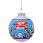 Sea World Ornament - Rudolph the Red Nosed Reindeer - Glass Ball