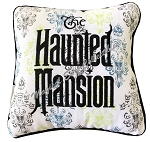 Disney Throw Pillow - The Haunted Mansion - Wallpaper