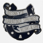 Disney Resort Pin - Disney's Saratoga Springs Resort and Spa