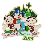 Disney Spectacle of Dancing Lights Pin - 2015 Mickey & Minnie